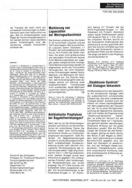 Markierung von Liquorzellen bei Meningealkarzinose