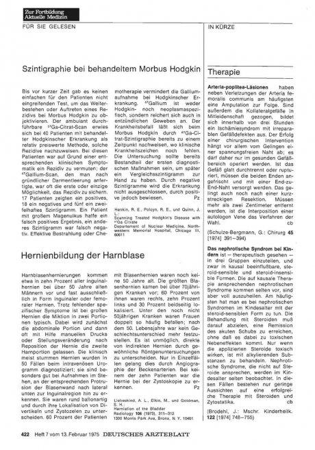 Hernienbildung der Harnblase