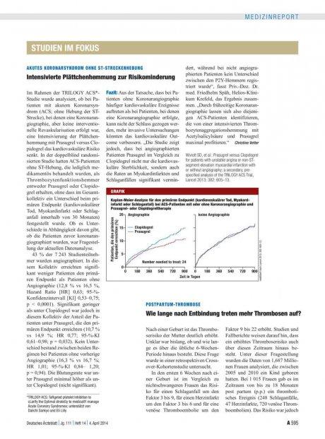 Postpartum-Thrombose: Wie lange nach Entbindung treten mehr Thrombosen auf?
