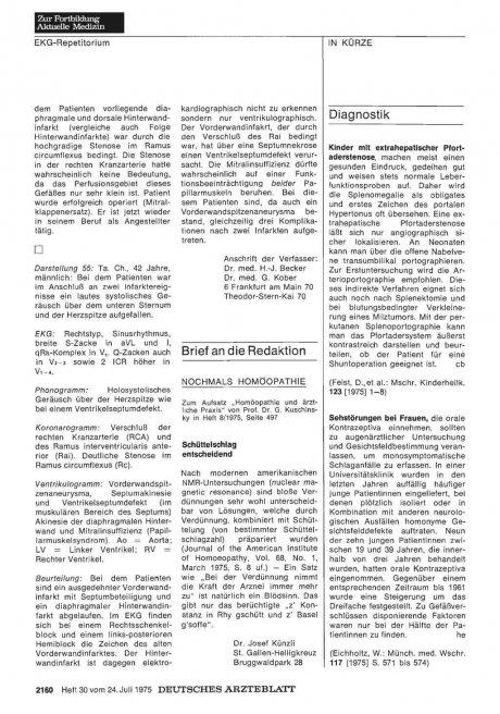 NOCHMALS HOMÖOPATHIE: Schüttelschlag entscheidend