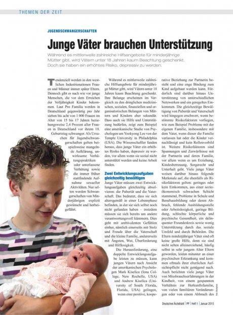 Jugendschwangerschaften: Junge Väter brauchen Unterstützung