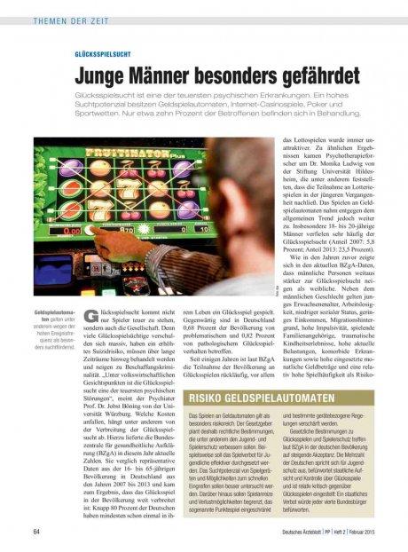 Glücksspielsucht: Junge Männer besonders gefährdet