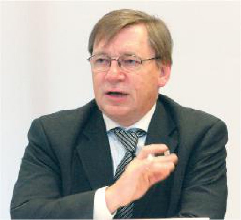 """KBV-Vorstand Ulrich Weigeldt: """"Ich halte Bonus-Malus- Systeme nicht für sinnvoll."""" Foto: Georg J. Lopata"""