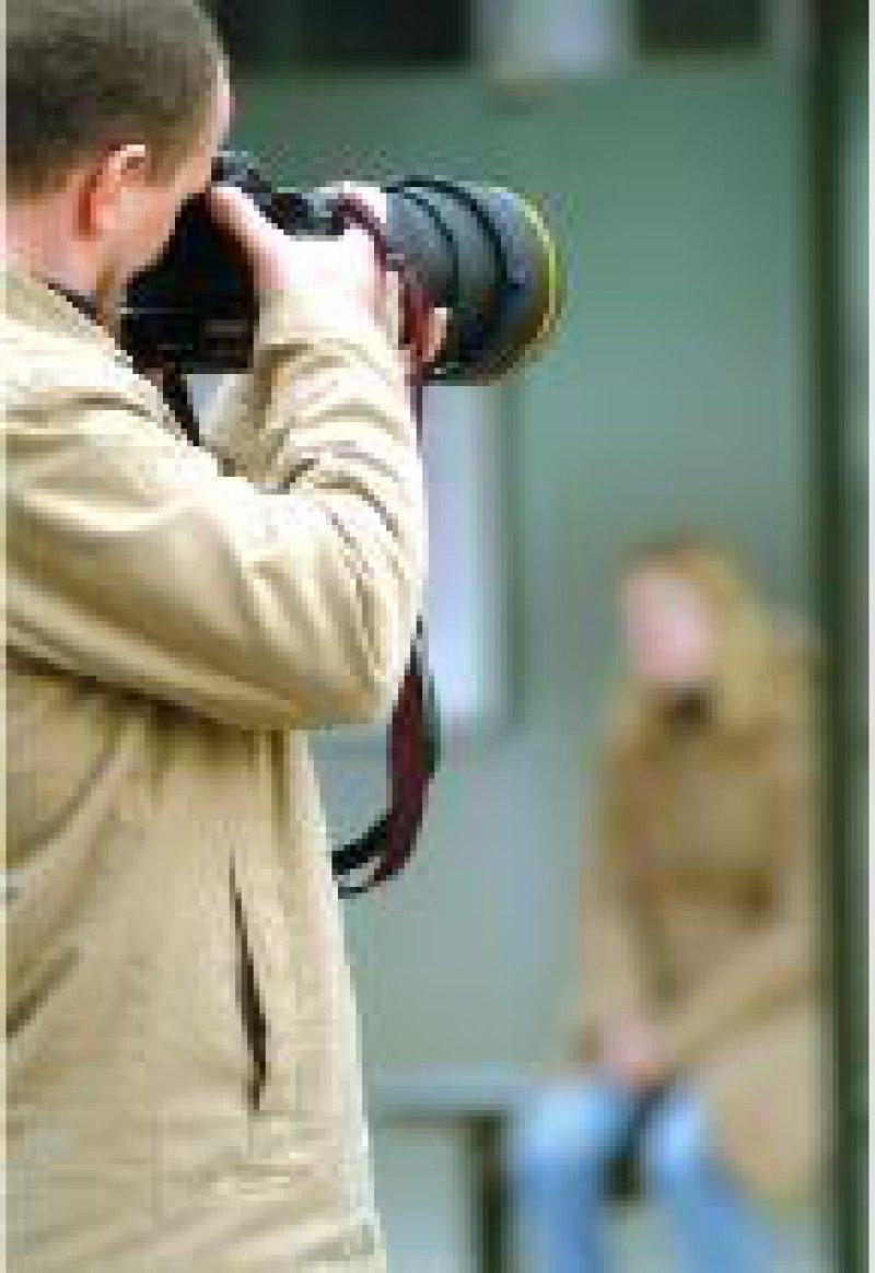 Stalking: Mehr als zehn Prozent der Bevölkerung betroffen Foto: Becker & Bredel