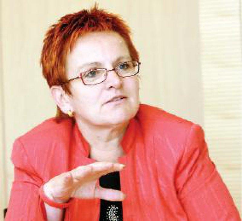 Die SPD-Politikerin Elke Ferner hat zum Teil Verständnis für die Ärzteproteste.Für die Einkommensunterschiede aber seien auch die KVen verantwortlich. Foto: Georg J. Lopata