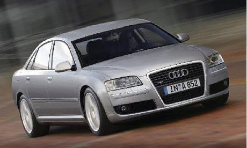 Ausgewogene Formen zeichneten den Audi A8 schon immer aus. Das Auto bietet Platz und Leistung satt. Werkfoto