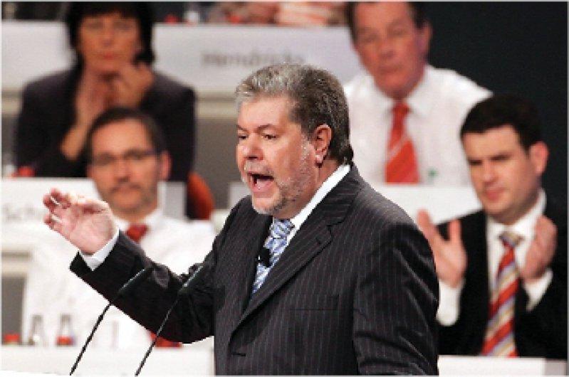 Lobte ausdrücklich Gesundheitsministerin Schmidt: der neue SPD-Vorsitzende Kurt Beck Foto: ddp