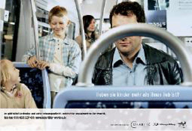 Medienkampagne 2005 zur Suche von Probanden
