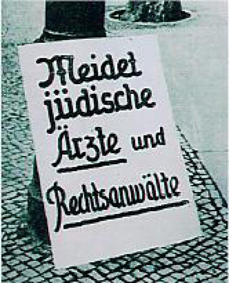 Ausgrenzung: Vor der Vernichtung wurde die Ausgrenzung und Entrechtung der jüdischen Bevölkerung zielstrebig umgesetzt.