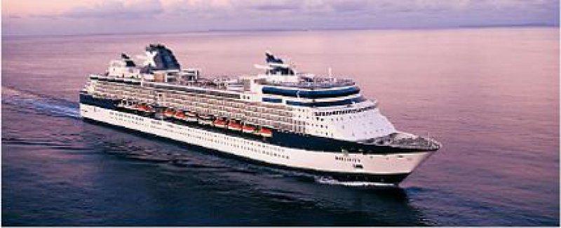 Infinity: Bis zu 1 950 Passagieren bietet der im März 2001 in Dienst gestellte Luxusliner Platz. Foto: Celebrity Cruises