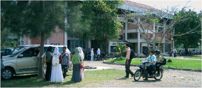 Partneruni: Der Campus in Banda Aceh ein Jahr nach dem Tsunami