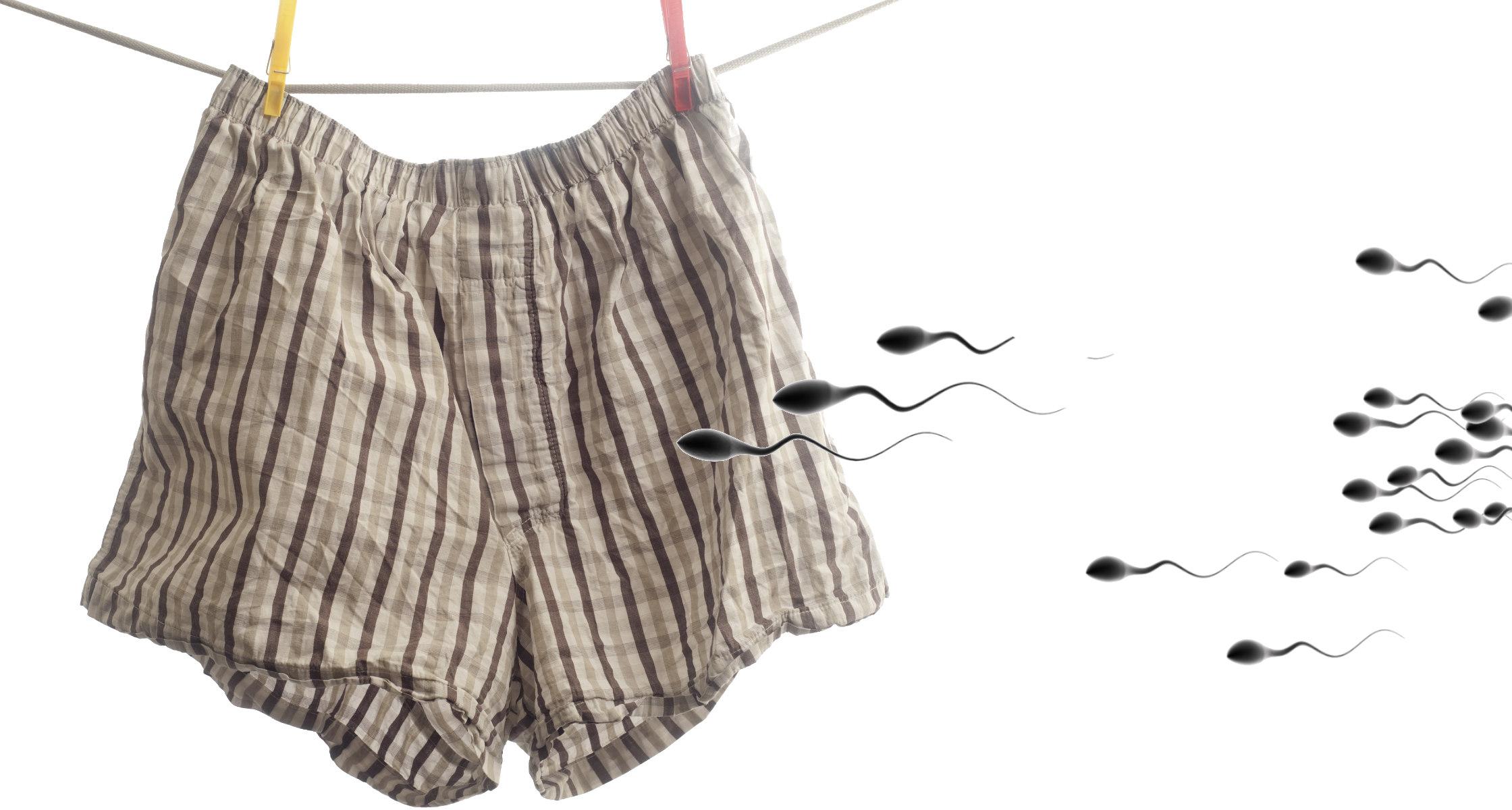 Können spermien durch unterwäsche