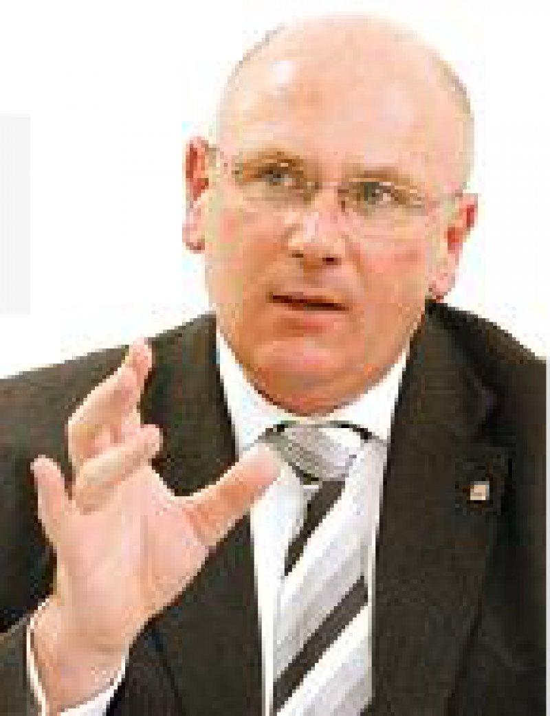 """KBV-Vorsitzender Köhler: """"Dieses Gesetz geht in die falsche Richtung."""" Foto: Georg J. Lopata"""