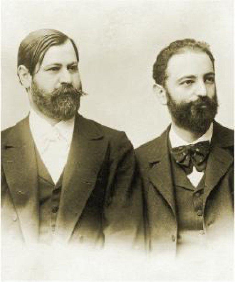 Fließ und Freud: Nach langen Jahren der Freundschaft kam es zum Bruch. Foto: picture alliance / IMAGNO