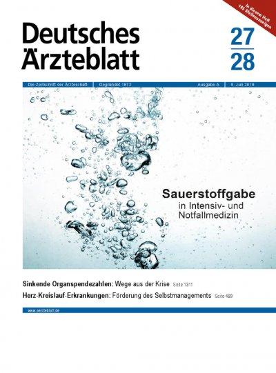 Deutsches Ärzteblatt: Aktuelles aus der Gesundheitspolitik und Medizin