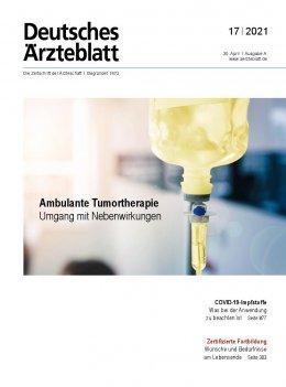 Deutsches Ärzteblatt 17/2021
