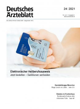 Deutsches Ärzteblatt 24/2021