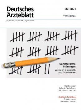 Deutsches Ärzteblatt 25/2021