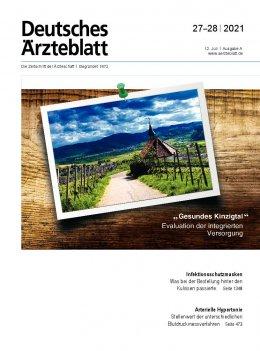 Deutsches Ärzteblatt 27-28/2021
