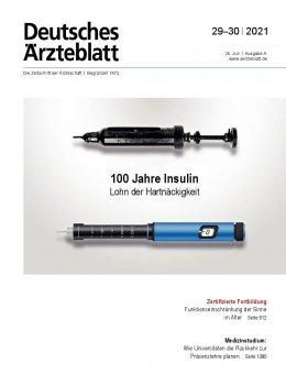 Deutsches Ärzteblatt 29-30/2021