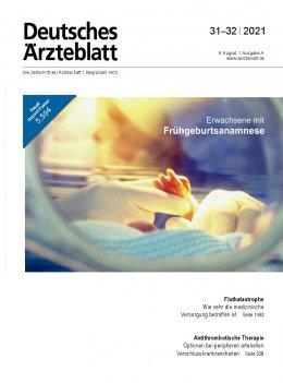 Deutsches Ärzteblatt 31-32/2021