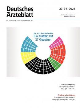 Deutsches Ärzteblatt 33-34/2021
