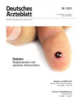 Deutsches Ärzteblatt 38/2021