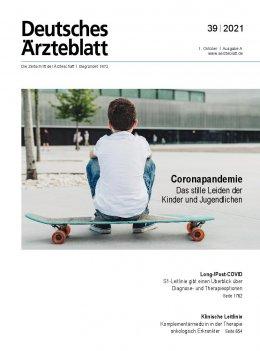 Deutsches Ärzteblatt 39/2021