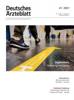 Deutsches Ärzteblatt 41/2021