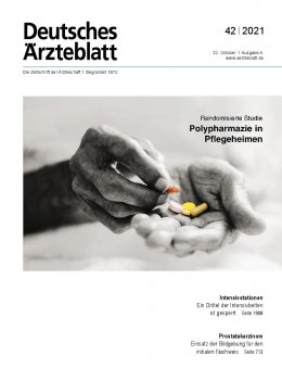 Deutsches Ärzteblatt 42/2021