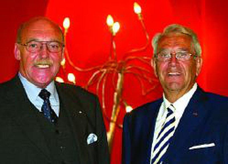 Reinhold Schulte (links) ist der Nachfolger von Peter Greisler als PKV-Vorsitzender. Foto: Georg Lopata