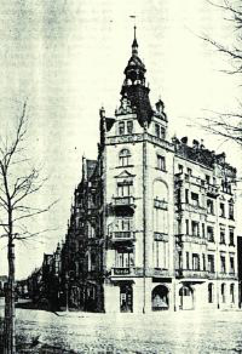 Ehemaliges Domizil des Kreda in Leipzig. Quelle: APO-Bank