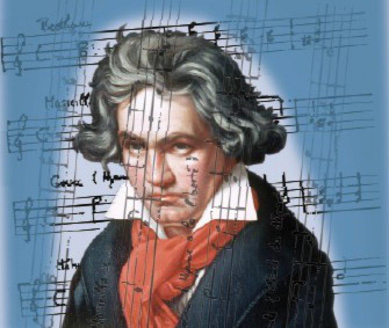 """Nur mithilfe der """"Überlebenskunst"""" war es nach Auffassung von Prof. Reddemann dem Komponisten Ludwig van Beethoven möglich, Musik zu schaffen, die Wege aus dem Leid schafft. Foto: dpa [M]"""