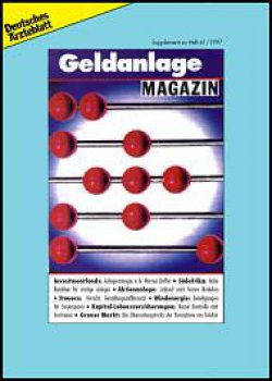 Deutsches Ärzteblatt 41/1997 SUPPLEMENT: Geldanlage