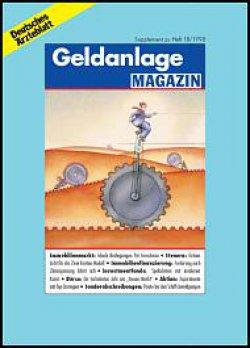 Deutsches Ärzteblatt 18/1998 SUPPLEMENT: Geldanlage