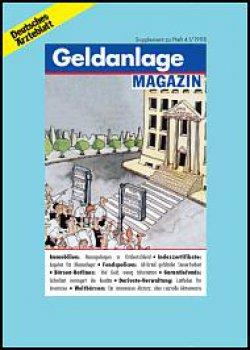 Deutsches Ärzteblatt 41/1998 SUPPLEMENT: Geldanlage