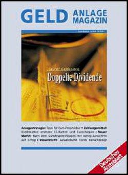 Deutsches Ärzteblatt 14/2001 SUPPLEMENT: Geldanlage