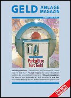 Deutsches Ärzteblatt 44/2001 SUPPLEMENT: Geldanlage