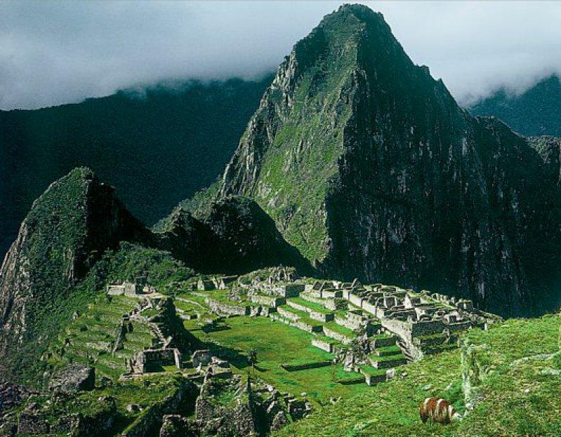 Die vergessene Stadt der Inkas: Machu Picchu ist nur mit dem Zug oder zu Fuß über den Inkapfad zu erreichen. Foto: Marco Polo Reisen GmbH