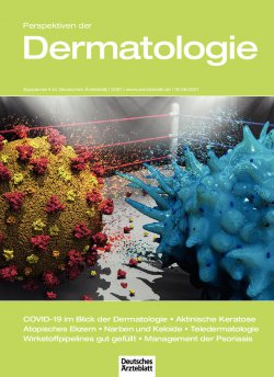 Deutsches Ärzteblatt 24/2021 SUPPLEMENT: Perspektiven der Dermatologie