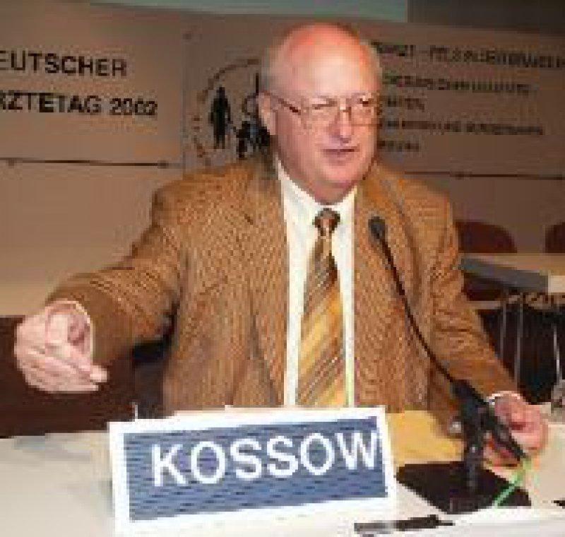 Prof. Dr. med. Klaus-Dieter Kossow sieht den Hausärzteverband nach den Beschlüssen des 105. Deutschen Ärztetages in Rostock am Ziel.