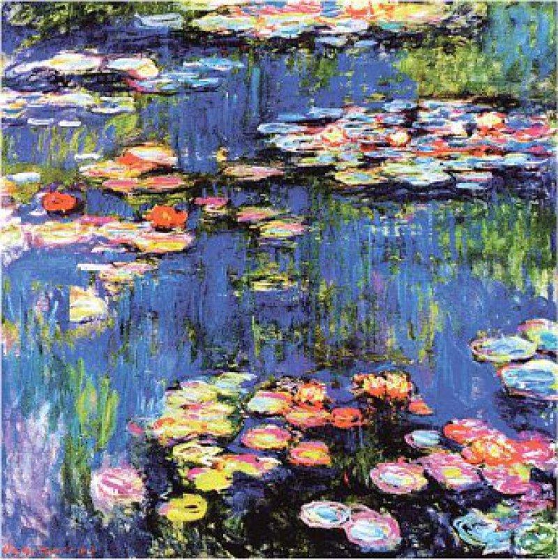 Mit seinen Seerosenbildern, die in Giverny entstanden, eröffnete Monet mit seiner Kunst ganz neue Möglichkeiten. Foto: von der Heydt Museum