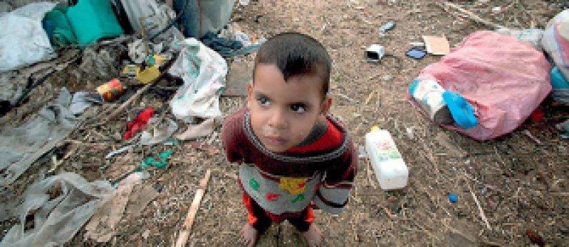 Die Not ist groß: Circa 80 Prozent der Palästinenser im Gazastreifen sind auf internationale Hilfe angewiesen. Foto: dpa