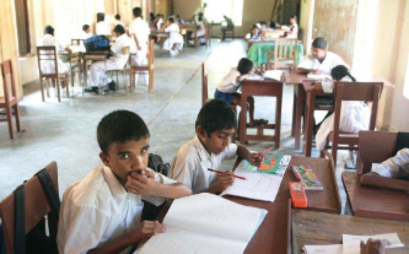 Blindenschule in Tangalle auf Sri Lanka: Der Mehrzahl der blinden Kinder bleibt allerdings ein Schulbesuch oder eine Berufsausbildung verwehrt. Foto: vario images