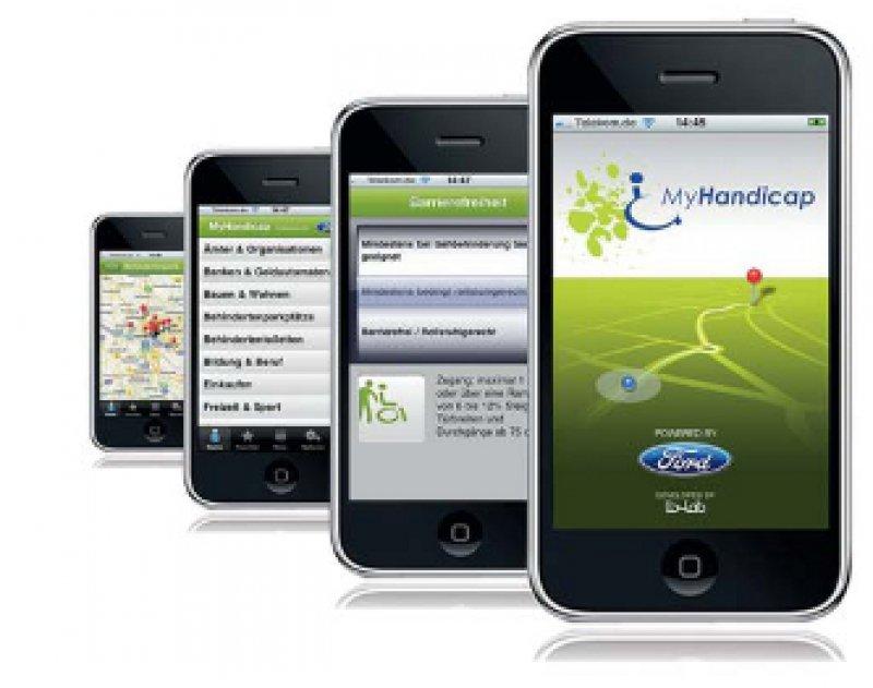 iPhone App für Menschen mit Mobilitätseinschränkungen. Foto: obs/lb-lab GmbH