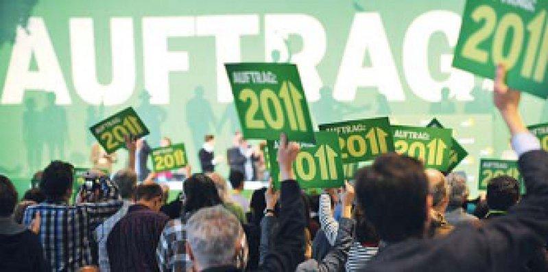 Für den Systemwechsel: Der Parteitag forderte ein Ende des Nebeneinanders von gesetzlicher und privater Krankenversicherung. Foto: dpa