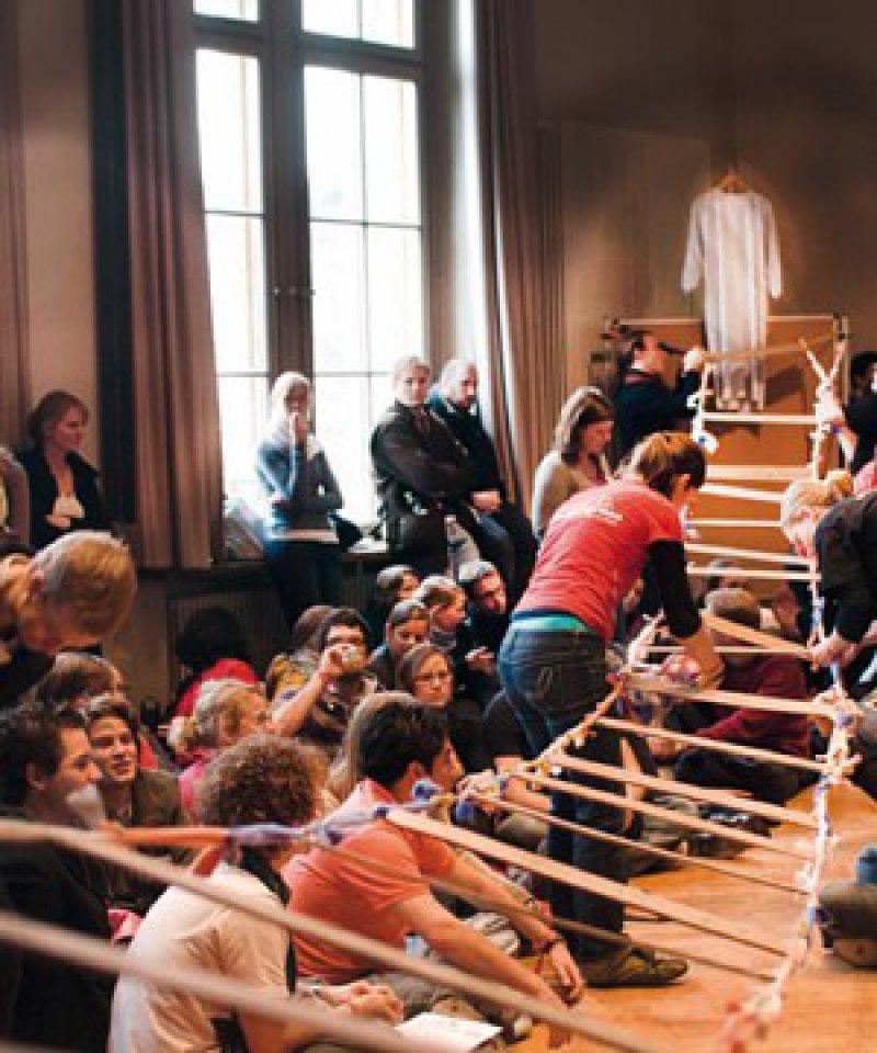 Mehr als 400 Teilnehmer aus 32 Fakultäten und aus dem Ausland kamen vom 4. bis 6. Dezember 2009 nach Jena zum Bundeskongress. Foto: bvmd