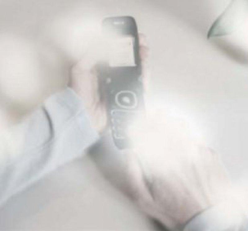 Die Sicht des Patienten: Leseschwierigkeiten durch verschwommenes und verzerrtes Sehen Foto: Novartis-Pharma GmbH