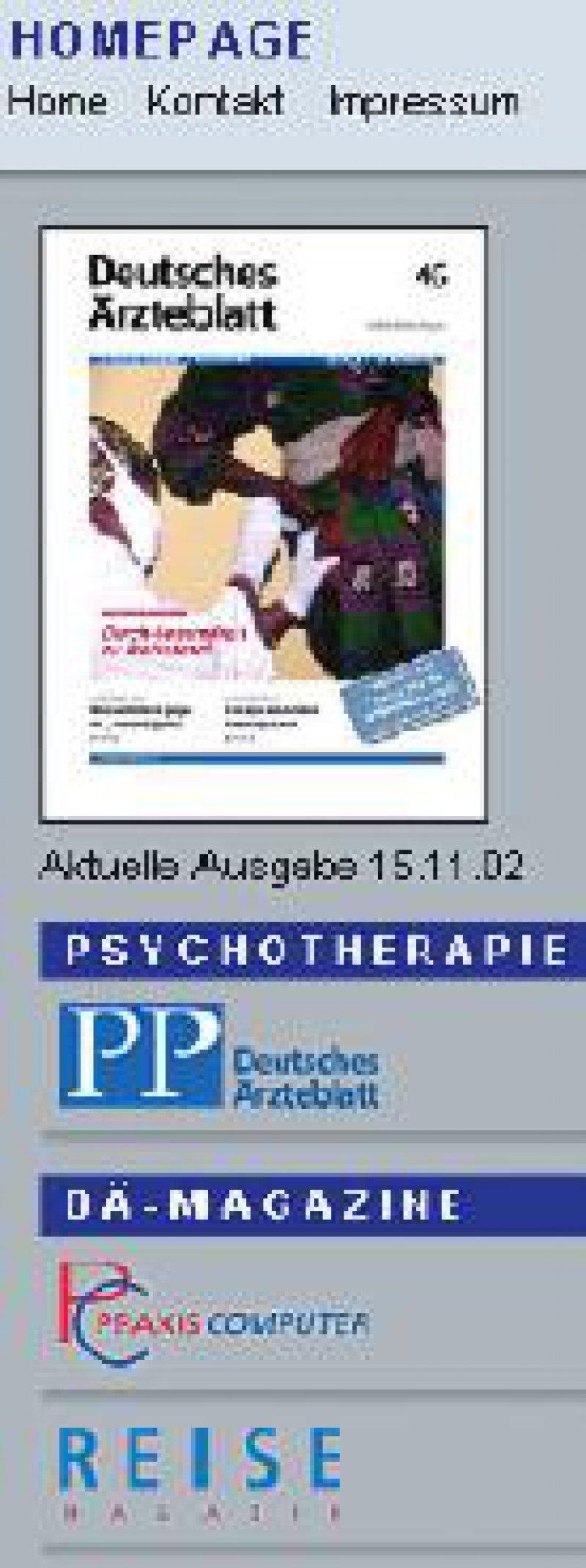 www.aerzteblatt.de