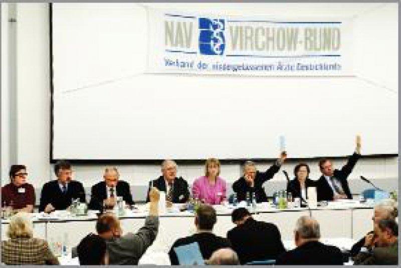 Bundeshauptversammlung des NAV-Virchow-Bundes in Berlin: Radikale Reformen Foto: Burkhard Lange